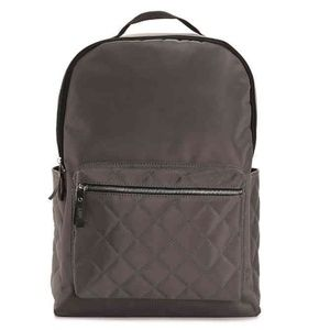 DSW Gray Quilted Backpack